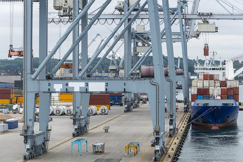 Industri ved Aarhus Havn
